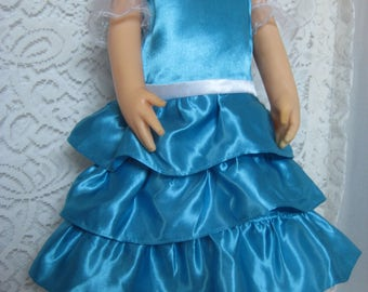 """Blue Party Dress for your Charmin Chatty or Other 24"""" Dolls"""