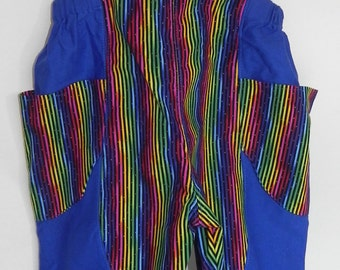Toddler rainbow print overalls size 2T