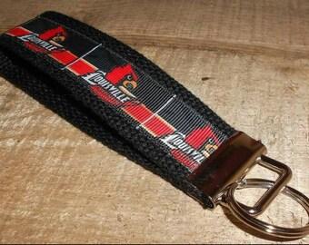 University of Louisville Cardinals Key Fob Wristlet