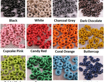 5mm Rubber Orings (select a color)