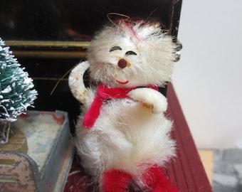 Vintage Chenille Ornament - Snowman Ornament Antique ornament