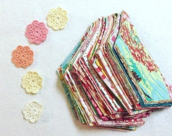 Ready to Sew Half Hexagons, Choose Size and color preference