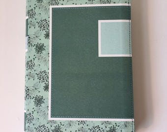 Floral Turquoise Spanish Leather Journal