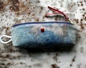 Beacon Red, a Little Pouch Based On the Form of a Boat