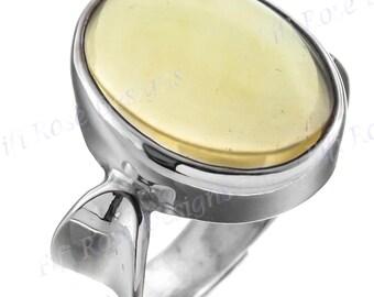Design 20ct Lemon Quartz 925 Sterling Silver Sz 8 Ring