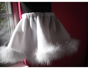 RESERVED White Circle Skirt for APRIL ( do NOT purchase unless you are April D.)