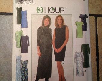 Simplicity 7901 Size 18, 20, 22 Misses' Dress Pattern UNCUT