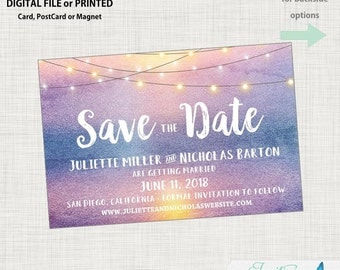Save the Date - Sunset Save the Date, Destination Save the Date, Beach Save the Date, Sunset Save the Date, Tropical Save the Date, Photo