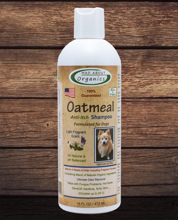 Organic Oatmeal Shampoo Formulated for Dogs 16oz - Best Oatmeal Shampoo on the Market!