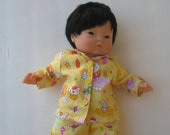 "Clothes for Corolle Mon Premier Calin 12"" Baby Doll Pajamas"