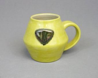 Peridot Mug: Crystal Gem Inspired Steven Universe Ceramic Coffee Mug
