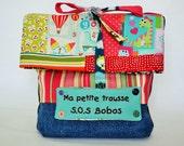 Trousse de premiers soins,sac à langer,pochette replier,trousse patchwork,replier,replier sur embrayage,Sacs bagages,Pochette,trousse voyage