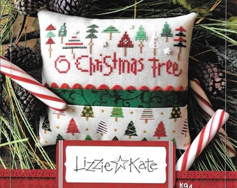 Lizzie Kate - O Christmas Tree K94 - Christmas Counted Cross Stitch Kit