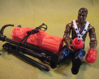 G I JOE BALROG Street Fighter with some accessories 1993