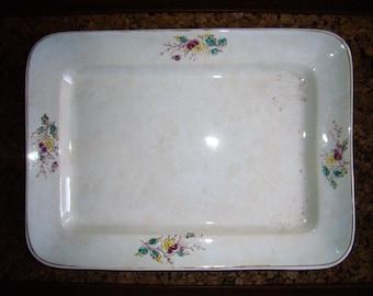 Elongated China Platter by Wick China Company