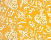 BTY - Garden Tonal Yellow by Michael Miller