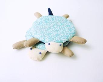 Cute Coaster, Turtle Coasters, Fabric Coaster, Coaster, Drink Coaster, Cup Cozy, Handmade Coaster, Coaster set - Housewarming Gift