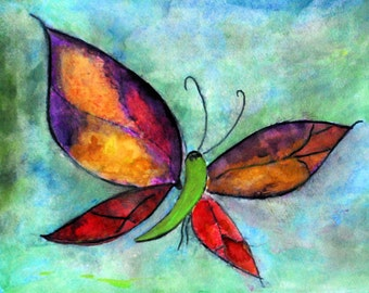 Butterfly place mats from my art