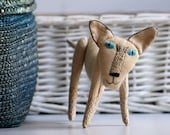 Siamese cat. Soft sculpture. Ready to ship