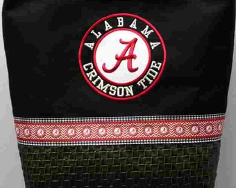 Alabama Crimson Tide Purse with other ribbon choices