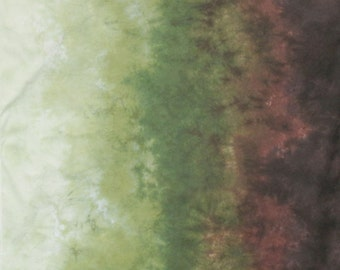 Gradient Hand Dyed Fabric - Woodlands