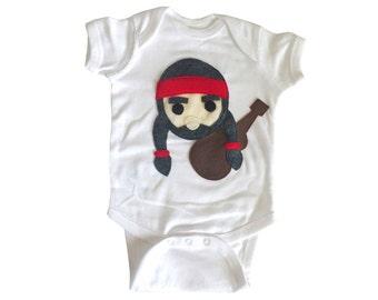 Willie the Music Man - Baby Bodysuit