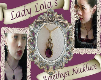 Reign Lady Lola's Royal Amethyst Necklace