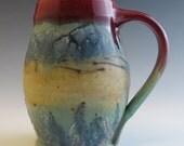 Mountain Wildflower Meadow Landscape Mug