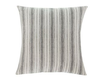NEUTRAL Brown Grey Pillow Cover.Decorator Pillow Cover.Home Decor.Large Print. BRUNSWICK GREY. Cushions. Cushion.Pillow. Premier Prints