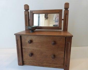 Vintage Antique Toy Child's Dresser Chest