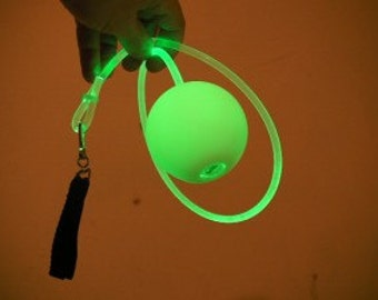 glow poi   fiber optic poi   spinning poi   flow toy   juggling toys   light up poi   poi   flow arts   ood cosplay   festival   100 mm ball