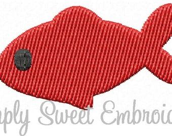 Fish Mini 2 Machine Embroidery Design