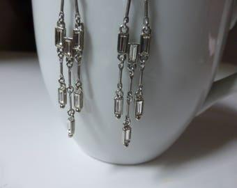 Reserved for Pamela - Art Deco Chandelier Earrings