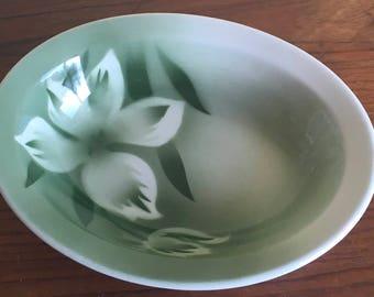 Vintage Jackson China Airbrushed Restaurantware Serving Vegetable Bowl