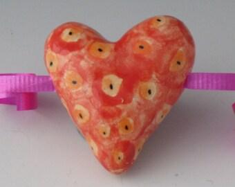 terra cotta Heart