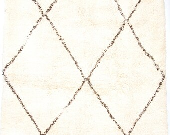 Big Ben-I- Classic deep pile Beni Ourain Berber rug