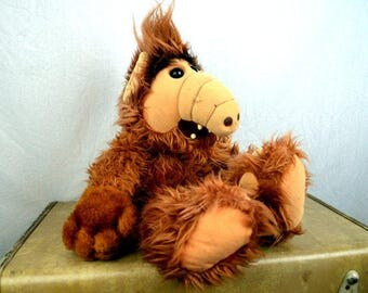 Vintage 80s 1986 Alf Doll