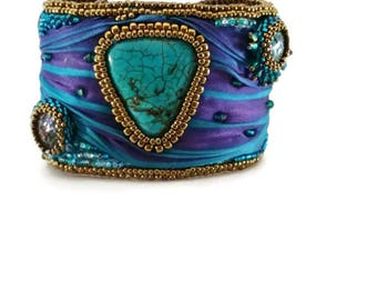 Real Teal cuff