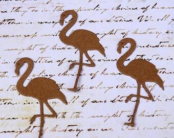 Flamingo Chipboard Die Cut Set