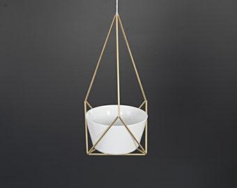 LOTUS - Geometric Modern Hanging Planter - Geometric Planter - Himmeli