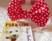 Valentines Day Bow Tie Collar For Cats And Dogs