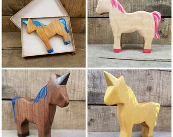 Wooden unicorn, custom unicorn, specialty unicorn, unicorn hunters