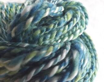 Hills of Ireland HANDSPUN Yarn – 100% Wool - 32 yds, Worsted Weight