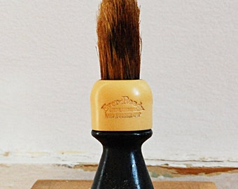 Vintage Shaving Brush with Bakelite by Ever Ready Gentleman Gift Item.