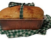 Prim Fake Bread Loaf - Farmhouse Fake Food - Primitive Kitchen Decor - Prim Kitchen Decor - Prim Table Decor - Rustic Kitchen Decor