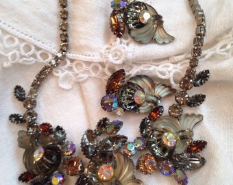 Edlee Black Diamond Topaz Necklace