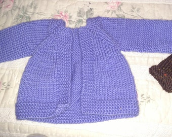 Cardigan sweater for 16 inch Waldorf doll