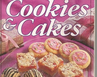 "Vintage Pillsbury ""Bake-Off Cookies & Cakes"" Cookbook"