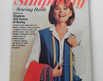 FALL SALE 25% OFF Simplicity Sewing Book. How To Sew Book From the 1960s.
