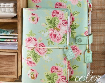 Mint Floral Webster's Pages Color Crush A5 Planner Kit • Free Washi Tape with this order
